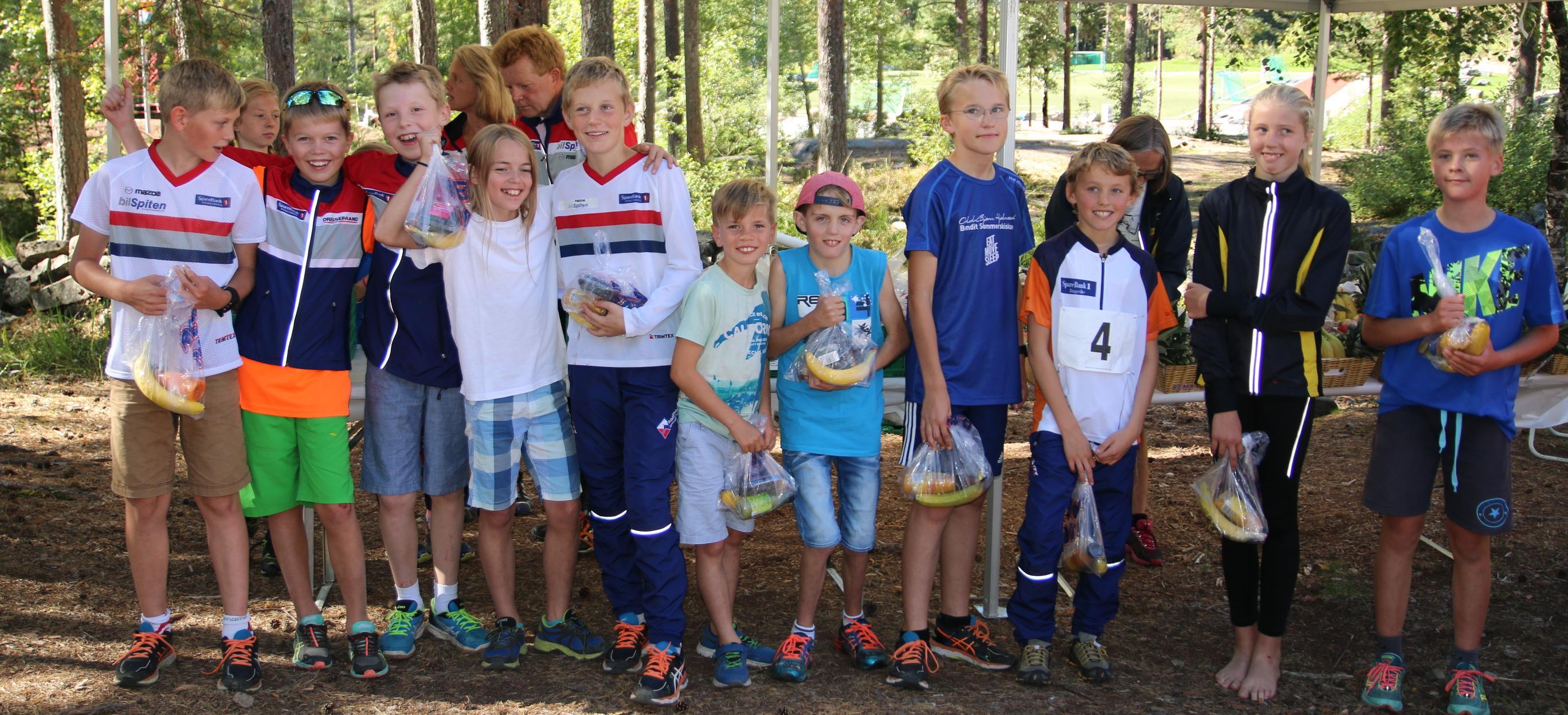 Martin og Reidar tok en fin 4.plass i H11-12 etter en knallsterk siste etappe av Reidar.